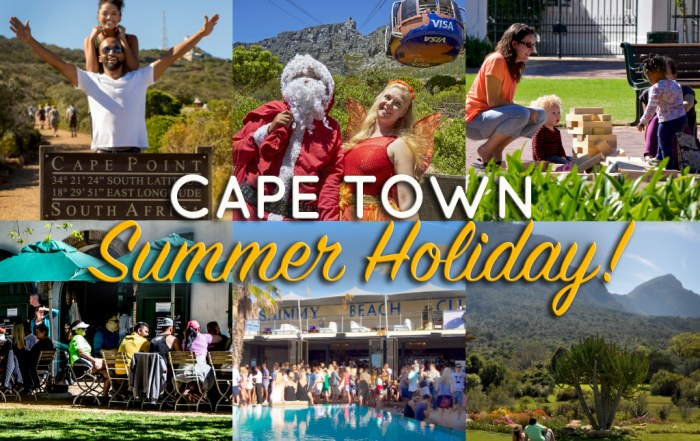 What's on at the Cape Town Big 7 this Festive Season
