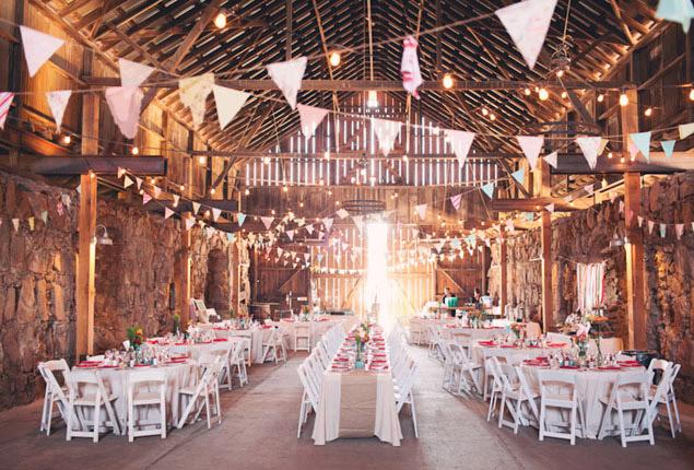 Cape Town Wedding Barn Venue Inspiration