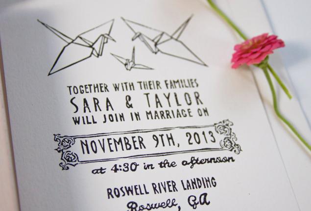 capetownwedding-invites-origami-crane