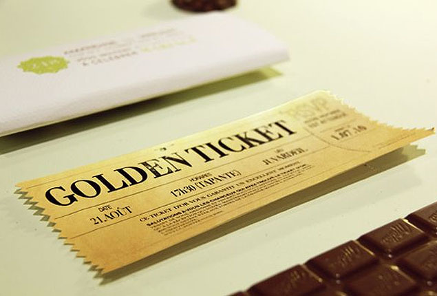 Cape Town Wedding Invites Willy Wonka