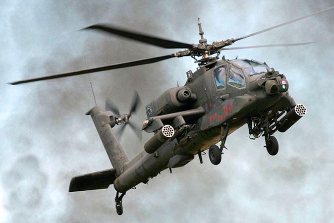 Helicóptero Ah 64 Apache aviación de combate (documental)