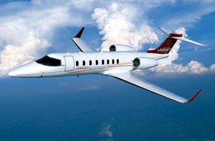 Aviones Learjet