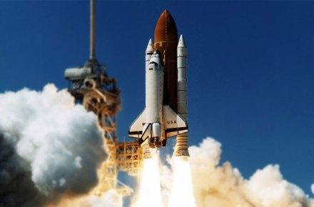 Cohetes del transbordador espacial