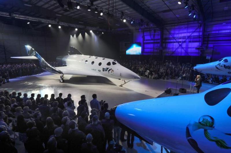 Virgin SpaceShip Unity