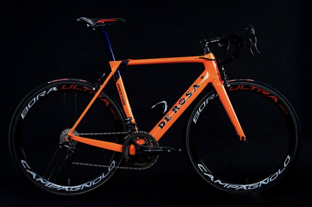 Thumbnail Credit (capovelo.com): The Protos was recently unveiled during a special event at De Rosa's factory, alongside the NIPPO Vini Fantini team, who will ride the new frameset this season.