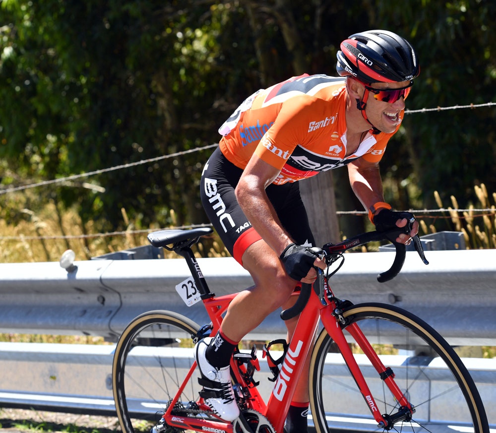 Richie Porte on stage five of the 2017 Tour Down Under