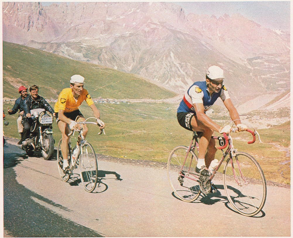 Raymond Poulidor, Roger Pingeon, Galibier, Tour de France, 1967