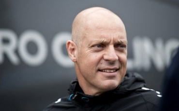 David  Brailsford, performance director of British Cycling and general manager of Team Sky, is pictured before the start of the final stage of Tour of Britain in London on September 22, 2013. Bradley Wiggins won his home Tour of Britain as compatriot Mark Cavendish of Omega Pharma QuickStep cycling team  took his third stage victory of this year's race.  AFP PHOTO / WILL OLIVER        (Photo credit should read WILL OLIVER/AFP/Getty Images)