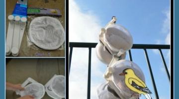 DIY Finch Bird Feeders-Outdoor STEM Project