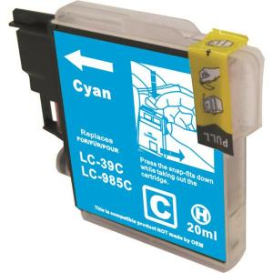 Brother LC 39 Cyan ink cartridge