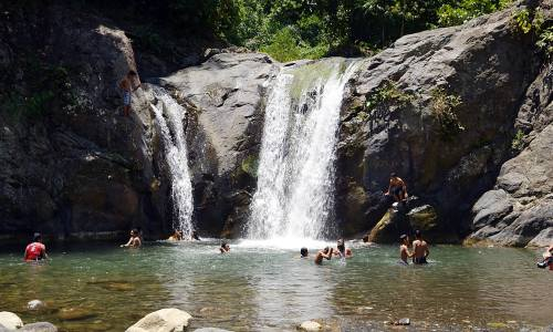 Exciting Tagnote Falls, RTR, Agusan del Norte