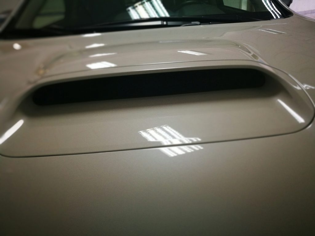 Subaru Levorg. Entrada de aire funcional.