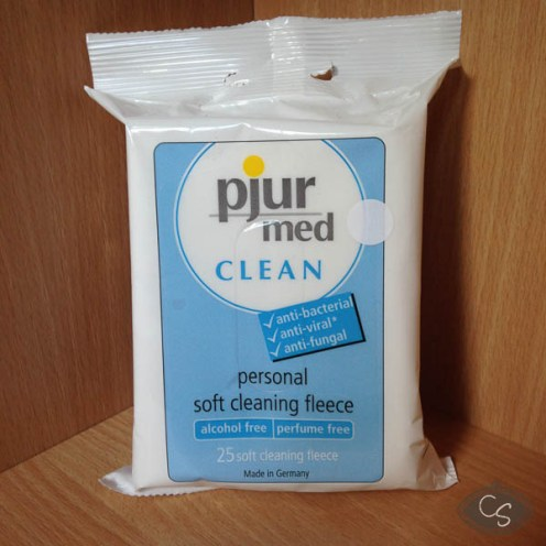 pjur med CLEAN Fleece wipes x 25