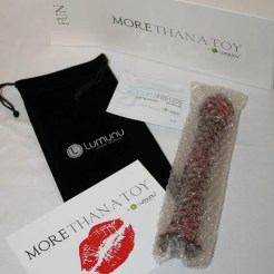 Lumunu Glass Dildo - CS-1