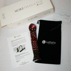 Lumunu Glass Dildo - CS-4