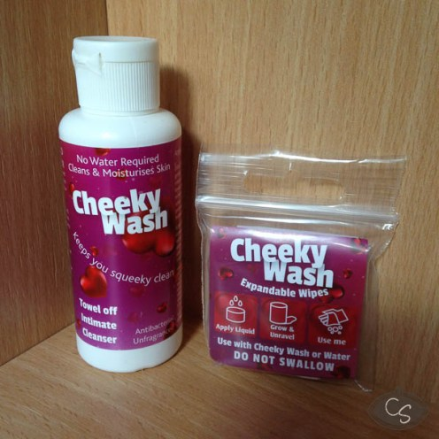Give Lube Pleasure Cheeky Wash & Wipes Review