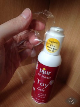 Pjur Woman Sex Toy Lubricant Lube Review Photo