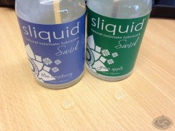 Sliquid Swirl Apple Blue Raspberry Flavoured Lubricants Reviews