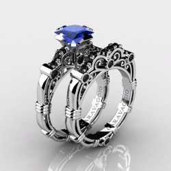Small Crop Of Blue Sapphire Ring