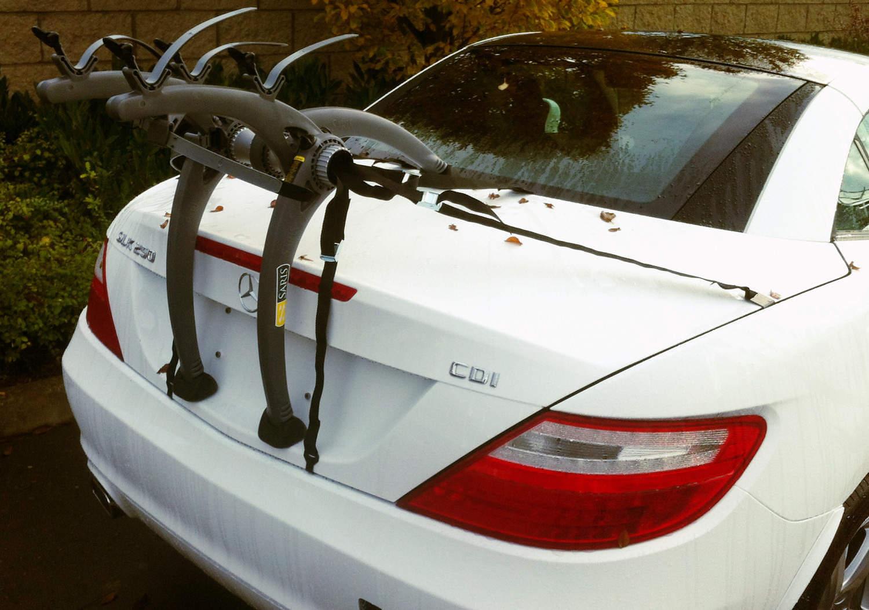 Mercedes slk bike rack bicycle carrier car bike racks for Mercedes benz c300 roof rack