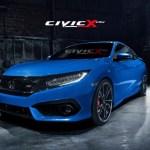 ホンダ 新型シビック クーペの新グレード Siがアメリカで2017年より販売開始!エクステリア・エンジンは?