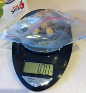 Eat Smart Scale with Macadamia Nuts