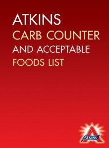 Atkins Carb Counter & Acceptable Food List