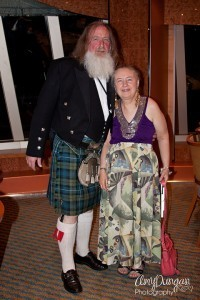 Archie and Anne on the 2012 Low Carb Cruise