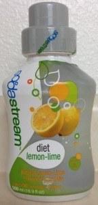Sodastream Diet Lemon Lime Flavored Soda Mix