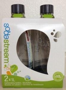 Sodastream 2 x 1l bottle pack