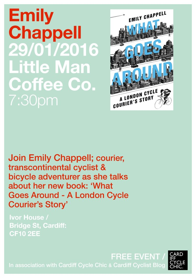 Emily Chappell Cardiff Cycle Chic Little Man Coffee
