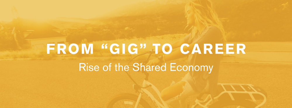 "From ""Gig"" to Career: Rise of the Shared Economy [Infographic]"