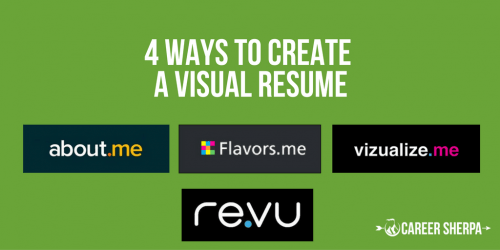 4-ways-to-create-a-visual-resume
