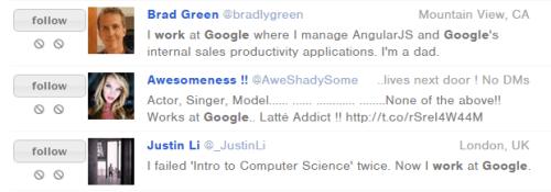 work at google