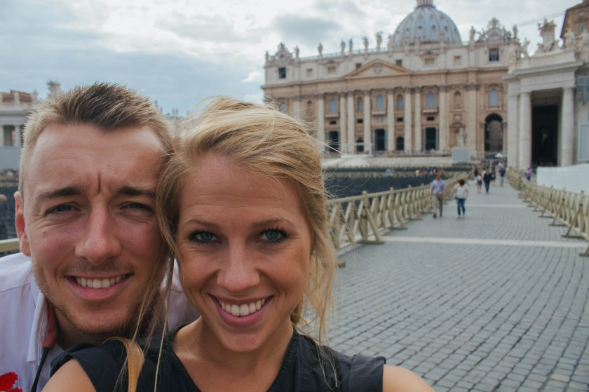 Radfords at Vatican