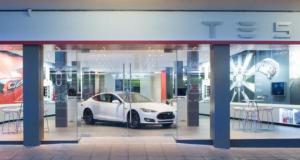Tesla Knutsford Store
