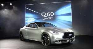 Infiniti reveals Q60 Concept