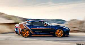 Jaguar F-TYPE R AWD Bloodhound SSC Rapid Response Vehicle
