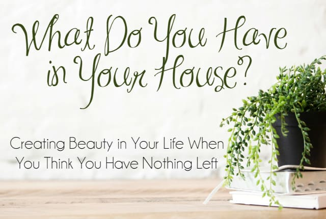 What Do You Have in Your House