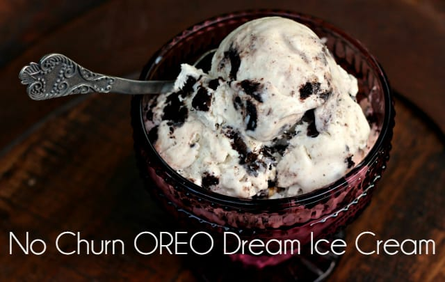 No Churn OREO Dream Ice Cream 17