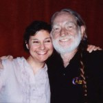 Carla Bozulich and Willie Nelson photographed by BJ Anthony