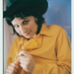 Carla Bozulich photographed by Lissa Ivy during the recording of Red Headed Stranger