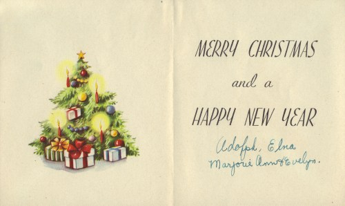 Medium Of The Christmas Card