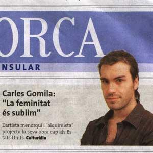 """Conversa """"A Cor Obert"""" amb Carles Gomila"""