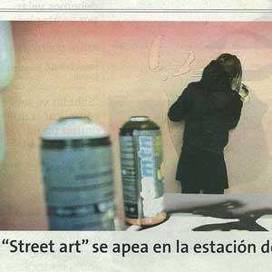 """«El """"Street Art"""" se apea en la estación de Maó»"""