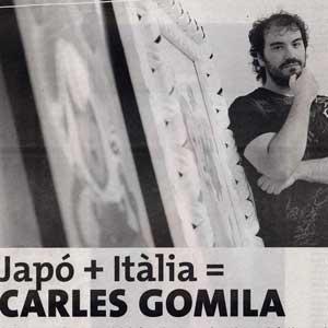 «Japó + Itàlia = Carles Gomila»