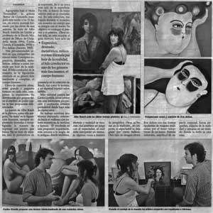 «La galería Retxa presenta hoy su nuevo montaje dedicado a la figuración humana»