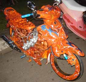 Rx King Modif Custom Automotive Motor Modifikasi Jambi AM2J menggebrak dunia modifikasi x