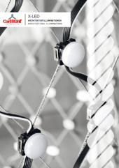 X-LED systemen met kabels productcatalogus Carl Stahl Architectuur