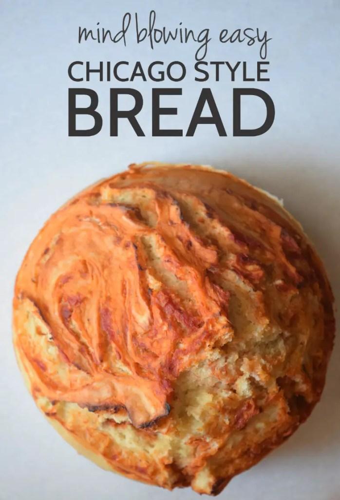 Chicago Bread – aka pizza but easier
